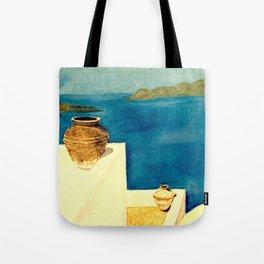 Greek Memories No.4 Tote Bag