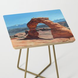 delicate arch Side Table