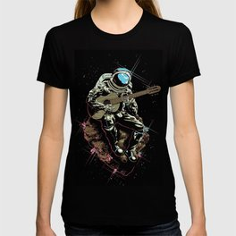 Space Guitar Player T-shirt