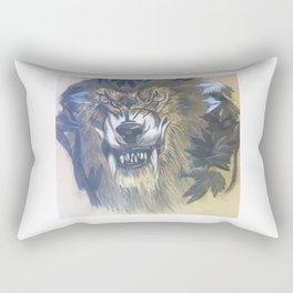 Worgen Fan Art Rectangular Pillow