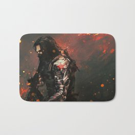 Blood in the Breeze Bath Mat