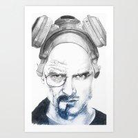 Breaking Buds Art Print
