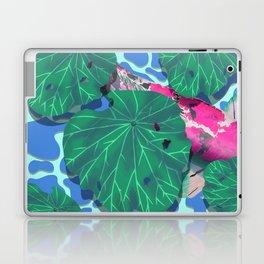 Pink Koi under Lilly Pads Laptop & iPad Skin