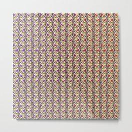 Hare pattern Metal Print