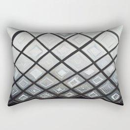 Woven Basket Diamonds Ombre #2 Rectangular Pillow