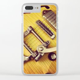 Wild Nights - Guitar Clear iPhone Case