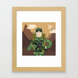 Army Framed Art Print