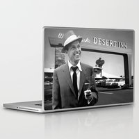 frank sinatra Laptop & iPad Skins featuring Frank Sinatra in Las Vegas by Gabriel T Toro