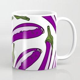 Purple Eggplants Coffee Mug