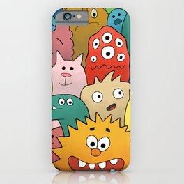 Creature Fest iPhone Case