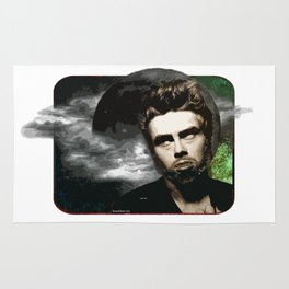 James Dean as The Wolfman Rug