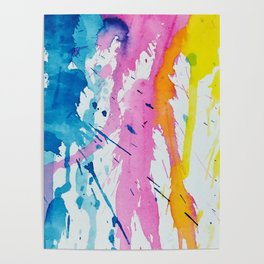 New Age Abstract Poster