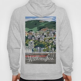 Wellington Harbour, NZ Hoody