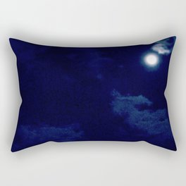 The night with a hazy moon Rectangular Pillow