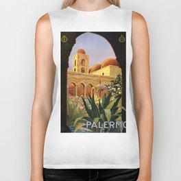 Vintage poster - Palermo Biker Tank