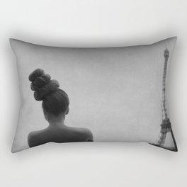 rooftop soliloquy Rectangular Pillow