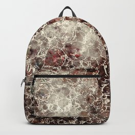 Bubbles watercolor Backpack