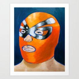 El Calamar Brusco Art Print