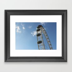 London Eye, London (2012) Framed Art Print