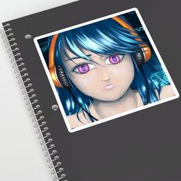 CyberBlue Sticker