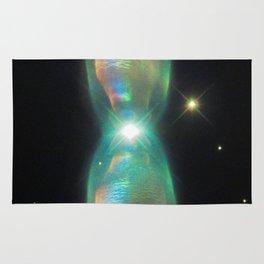 prism of the interdimensional iridescent | space #07 Rug