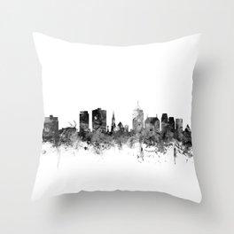 Christchurch New Zealand Skyline Throw Pillow