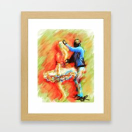 Dancers Framed Art Print