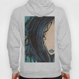 My Mermaid. Original Painting by Jodilynpaintings. Figurative Abstract Pop Art. Hoody