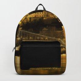 Budapest Golden Night Backpack