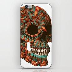 Ornate Skull (Color Version) iPhone & iPod Skin