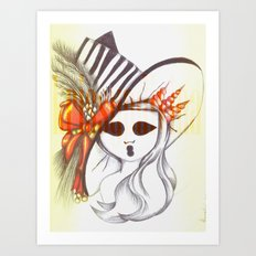 The Ghostesses Of Caprice Art Print #4 Art Print