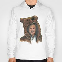 marc johns Hoodies featuring Bear Suit Marc by Kyle Miller