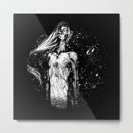 Snowqueen Metal Print