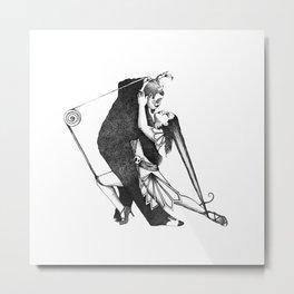 Devilish Tango Metal Print