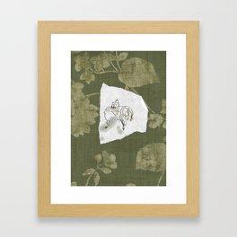 iron out Framed Art Print
