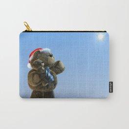 Santa & Christmas Star Carry-All Pouch