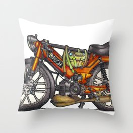 Puch Throw Pillow