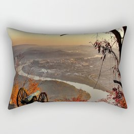 Chattanooga TN Tennessee Scenic City Rectangular Pillow