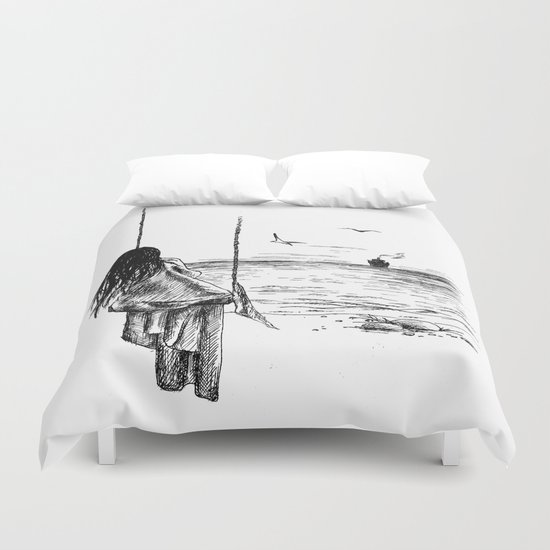 Loneliness Duvet Cover