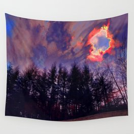 Dark As The Sky Wall Tapestry