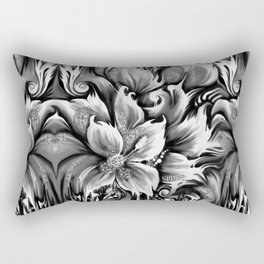 Frontal cortex. Pedals in my mind. Rectangular Pillow