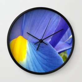 Blue Iris, 2012 Wall Clock