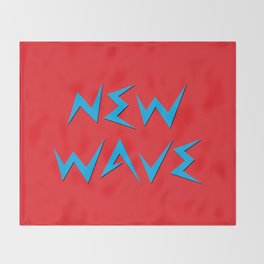 NEW WAVE Throw Blanket