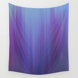 Violet Chromatic Wall Tapestry