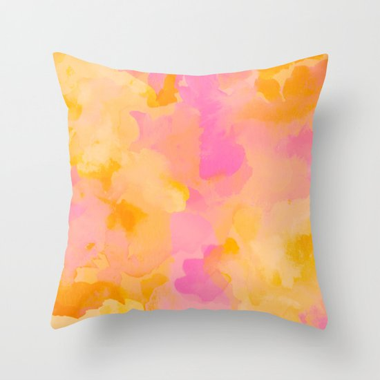 ROYAL BLUSH Throw Pillow