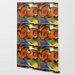 """Franz Marc """"Roter Stier"""" Wallpaper"""