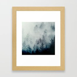 The hollows in fall Framed Art Print