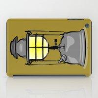 lantern iPad Cases featuring Lantern by mailboxdisco