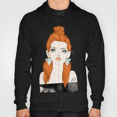 Red-haired girl Hoody