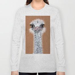 Ostrich animal Long Sleeve T-shirt